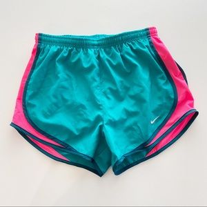 Nike Dri-fit Tempo Teal Running Shorts Size S